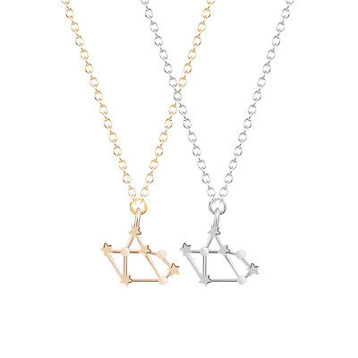 Constellation Necklace Love Sagittarius Zodiac Sign Astrology Necklace for Women