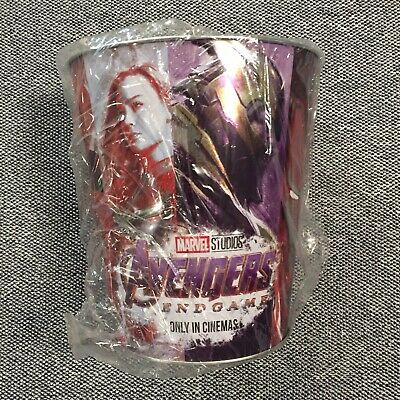 Marvel Avengers The End Game Tin Bucket Collectors Amc Popcorn 2019 Brand New