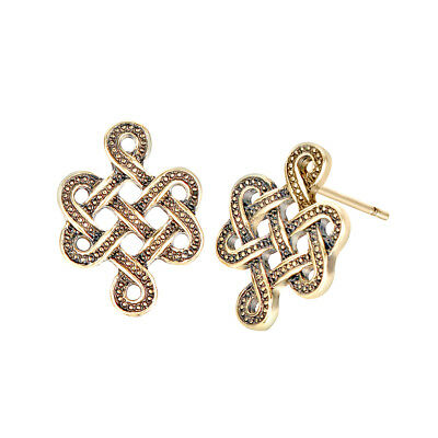 Infinity Knot Earrings Celtic Irish Eternity New Trendy Jewelry Viking Earring