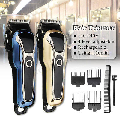 Electric Hair Clippers Beard Trimmer Shaver Mens Boys Haircut Clipper Grooming