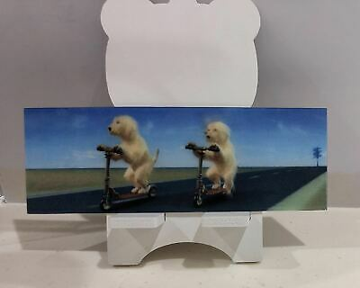 3D Book Marks Dog with Ruler