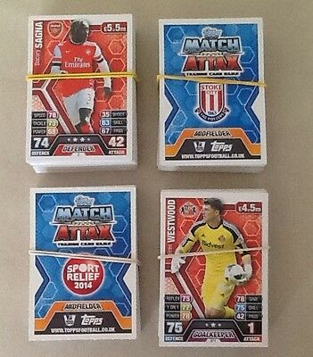 Topps Match Attax 2013/14 Premier League Player Cards - No's 1-250