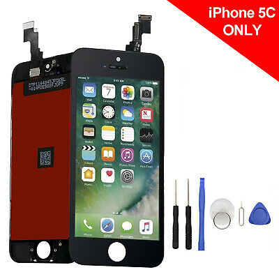 For iPhone 5C Black Display Touch Screen Digitizer LCD Replacement Assembly