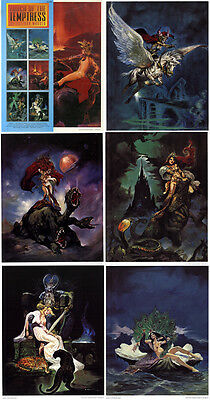 Maroto Portfolio Touch Of Tempress-Sqp- Usa 1994+Ex-Libris Signé+12 Cartes Coul.