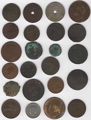 Mix Of Old World Coins | Bulk Coins | Pennies2Pounds