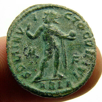 Constantine I The Great 314-315 Ad Sol Iinvicto Ancient Roman Coin Hight Quality