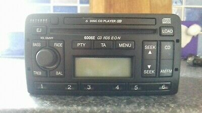 Ford Focus Mondeo 6006E CD Player Spares Radio works, won't play cds