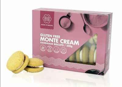 12 x 200g House of Biskota Gluten Free Monte Cream Biscuits
