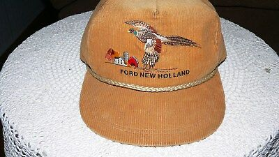 8447d73a63b9b FORD NEW HOLLAND Heritage Series Tan K Brand Hat Cap NEW OLD STOCK ...