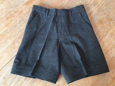 Boys Grey School Shorts Age 6-7 From M&S | Marks & Spencer
