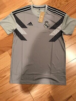 47a2bfdba67 Adidas MEN S SOCCER REAL MADRID HOME PRE-MATCH JERSEY Size M BNWT CW5826  Parley