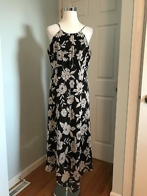 2c57899e4d0 CONNECTED WOMENS Black Brown Animal Print Faux Wrap Ruched Stretch ...