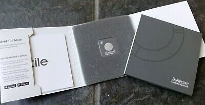 Banking/Finance : Tile Mate Key or Phone Finder with J.P. Morgan logo - New