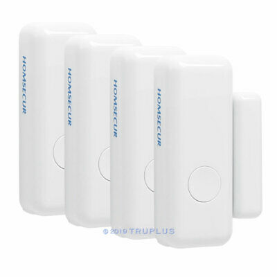 4pc 433Mhz Wireless Door/Window Contact Sensor for HOMSECUR Smart Alarm System