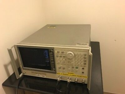 HP Agilent 8753D 300 kHz to 3 GHz Vector Network Analyzer w/ Options 010/011