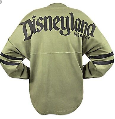 "Disney Parks Disneyland Resort Est. 1955"" Spirit Jersey Long Sleeve Large-Nwt"