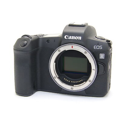 Canon EOS R Mirrorless Digital Camera Body 30.3MP Full-Frame -MINT- #85
