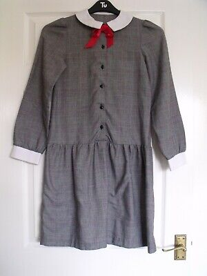 CHILDS VINTAGE PARTY DRESS LATE 1970s EARLY 1980s ST MICHAEL M&S AGE 11