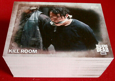 THE WALKING DEAD - Season 5 - COMPLETE BASE SET (100 cards) - Topps, 2016