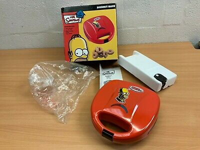 The Simpsons Doughnut Maker New Boxed Red