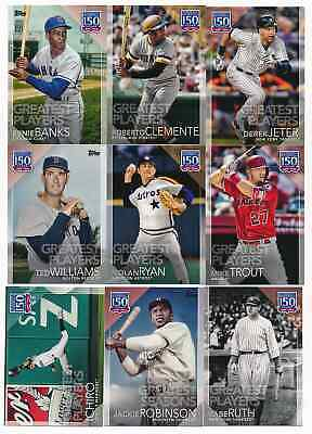 2019 Topps Series 1 Greatest Moments Seasons Players Complete Set U Pick Choose