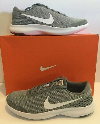 4d65a1932dcf Nike Mens Flex Experience RN 7 Running Shoes Gray White Size 10 medium New