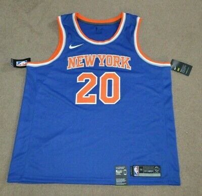 d26faef926e NWT Kevin Knox New York Knicks Nike Connect Authentic Swingman Jersey 56