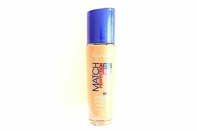 Rimmel London Match Perfection Foundation SPF 20 - 30ml - Please Choose Shade: