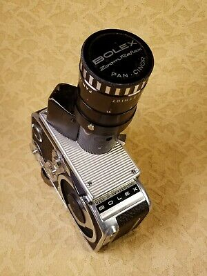 Paillard Bolex Zoom Reflex P2 Movie Camera,Som Berthiot Pan-cinor Lens,V.G.C!!