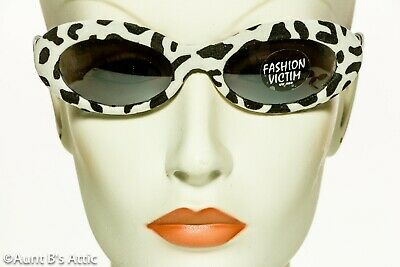 Sunglasses Asst. Fabric Covered Animal Print Oval Shape Costume Sunglasses