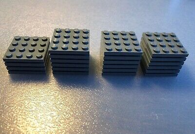 3031 Lego 4x Black Plate 4x4 NEW!!!