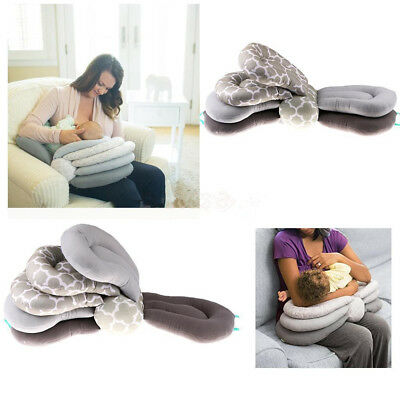 Baby Elevate Adjustable Maternity Breastfeeding Nursing Pillow Support Cotton !