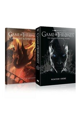 Game of Thrones: Complete Seventh Season 7 (DVD, 2017,5-Disc Set) + Bonus DVD