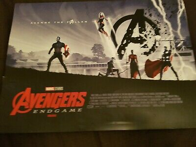 Marvel Avengers Endgame ODEON Exclusive Poster Matt Ferguson,Marvel Studios A3