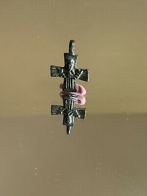 ANCIENT BYZANTINE CROSS BRONZE AMULET Available For Purchase After 01.0.9.19!!!