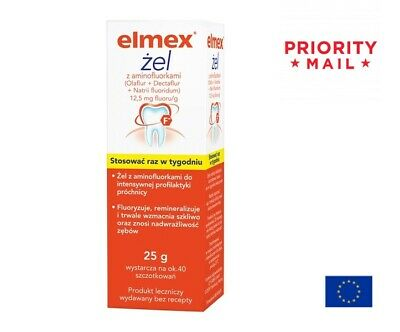 Elmex Gelee Gel 25g - Extreme Cavity Care Prevention Use Once Weekly
