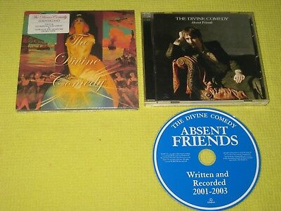 The Divine Comedy Foreverland (New) & Absent Friends 2 CD Albums Indie Rock