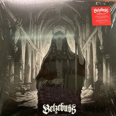 Belzebubs - Pantheon Of The Nightside Gods LP - Red Colored Vinyl Album Record