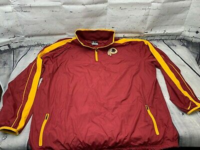 1dd4c0a6f NIKE WASHINGTON REDSKINS Fly Rush 1/2 Zip P/O Training Top Jacket ...