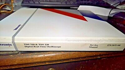 Tektronix TDS 210 & TDS 220 Service Manual in Tektronix Binder