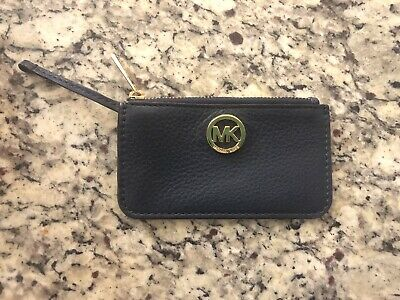24c366b41d7b MICHAEL KORS Signature Gold Metallic Mirror Card Case Holder. $10.60 0 Bids  2d 18h. See Details. Authentic Michael Kors Credit Card Holder Keychain Navy