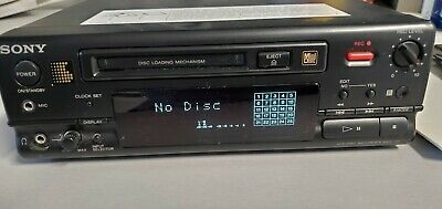 Vintage Sony MDS-101 Home Theater Digital MiniDisc Recorder Player System