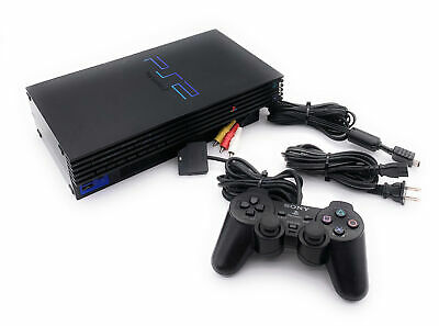 Sony PS2 Playstation 2 FAT Console SCPH-30001 w/Original Controller Memory Card