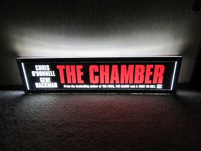 *** THE CHAMBER [1996] *** D/S 5x25 [LARGE] MOVIE THEATER POSTER [MYLAR] ***