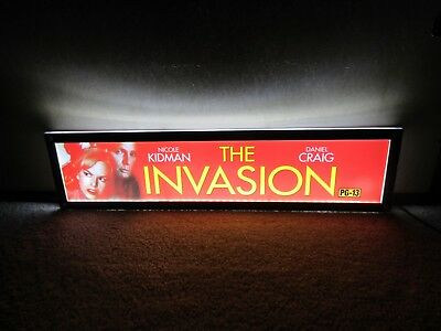 *** THE INVASION [2007] *** D/S 5x25 [LARGE] MOVIE THEATER POSTER [MYLAR] ***