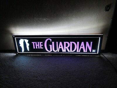*** THE GUARDIAN [1990] *** D/S 5x25 [LARGE] MOVIE THEATER POSTER [MYLAR] ***