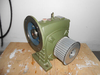 GONG TZYH speed reducer TKAE120 ratio 1:20  5HP PERFECT CONDITIONS!!