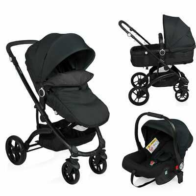 Little World Kombi Kinderwagen 3-in-1 Sportwagen Buggy Babyschale Autositz