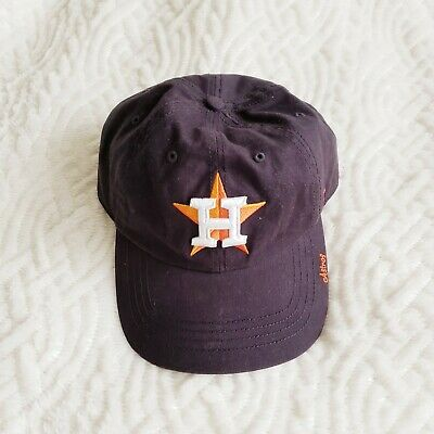 online store 87e2f 12930 Women s Houston Astros Navy Baseball Cap Adjustable Strap Hat MLB Daddy