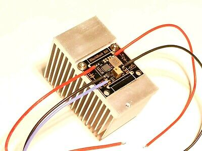 BlackBuck 8M - Pre-Wired w/ Heatsink - 8A Buck Laser/LED Driver PWM/TTL - NUBM44